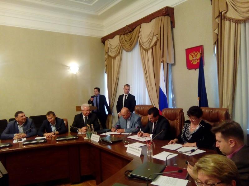 Подписано региональное трехстороннее соглашение