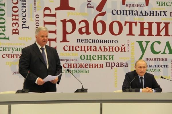 IX cъезд ФНПР  завершил работу