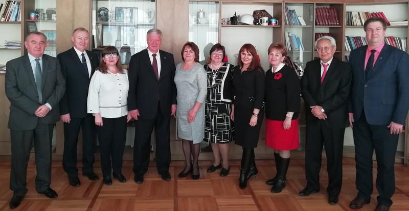 Председатель ФНПР Михаил Шмаков посетил с рабочим визитом столицу Южного федерального округа