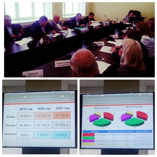 25 октября 2018 года состоялось заседание областной трёхсторонней комиссии по регулированию социально - трудовых отношений