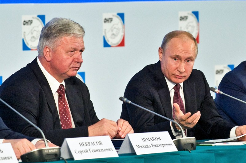 Михаил Шмаков вошёл в состав Государственного Совета РФ