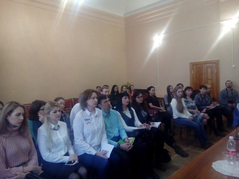 Заседание Молодёжного совета АОООП