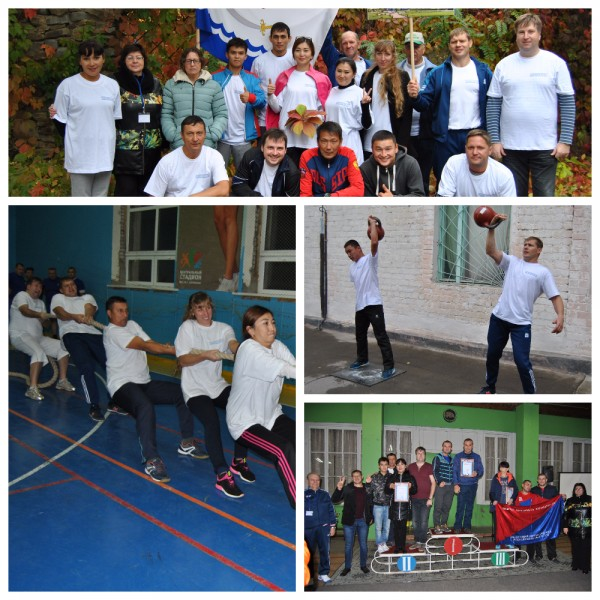 Команда Астраханских профсоюзных спортсменов успешно приняла участие в спартакиаде трудящихся ЮФО