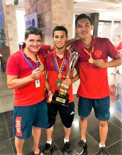 Астраханские врачи – любители футбола в составе молодежной сборной России стали олимпийскими чемпионами