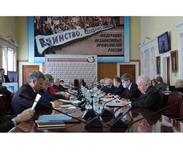 Генсовет ФНПР назначен на 14 апреля