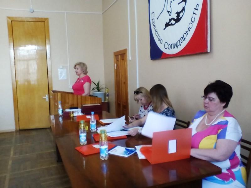 2 июня 2015 года состоялась III отчетно-выборная Конференция Астраханской территориальной организации профсоюза работников судостроения и судоремонта