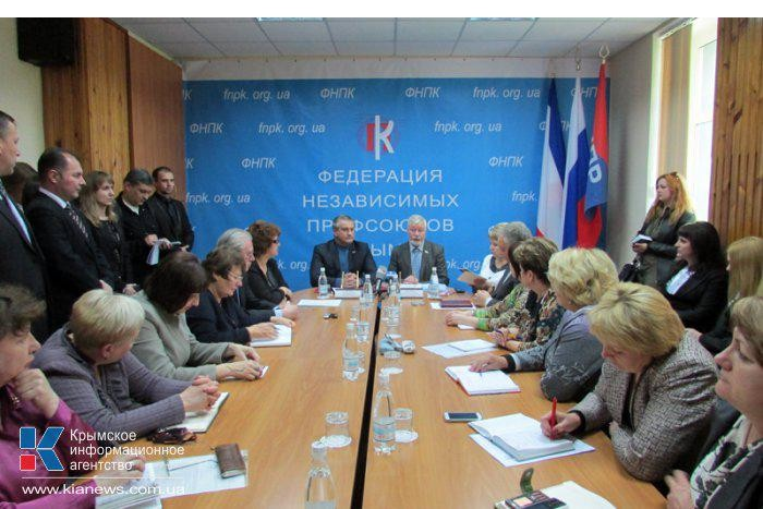 28 апреля 2014 года ФНПК  заключила в г. Симферополь Соглашение с Совмином РК