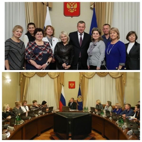 18 декабря 2018 года состоялась встреча профсоюзных лидеров с и.о. Губернатора Астраханской области Сергеем Морозовым