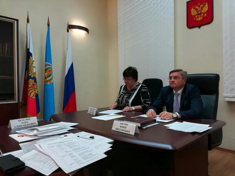 Заседание трехсторонней комиссии по регулированию социально-трудовых отношений ЮФО